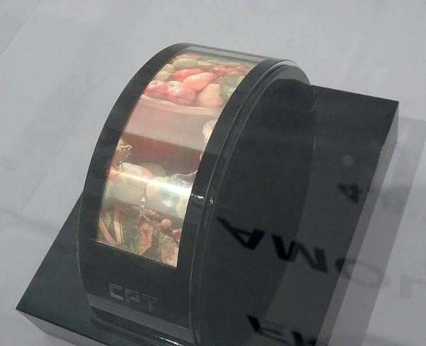 CPT использует в дисплеях AMOLED аморфный кремний и IGZO