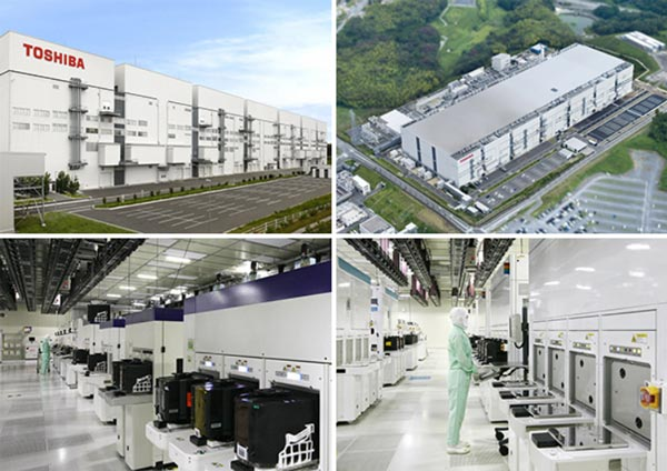 Toshiba и SanDisk наращивают мощности по выпуску флэш-памяти