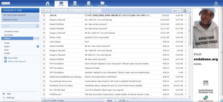 Взломаны почта и другие аккаунты Сатоси Накамото