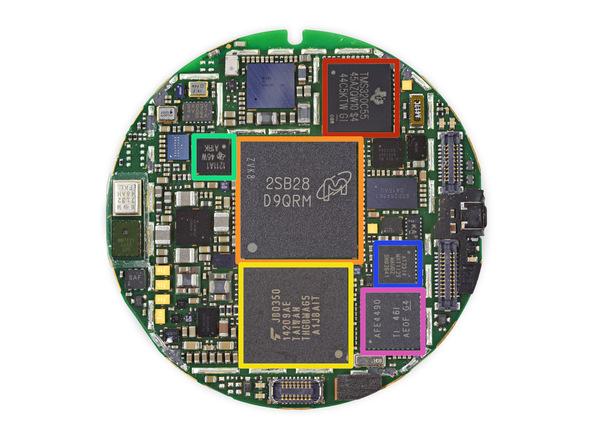 Умные часы Moto 360: полный разбор от iFixit (и 3 из 10 шкале ремонтируемости)