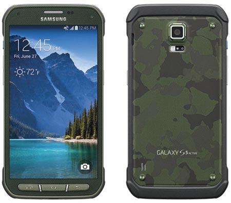 Появления Galaxy S5 Active на витринах европейских магазинов можно ожидать в октябре