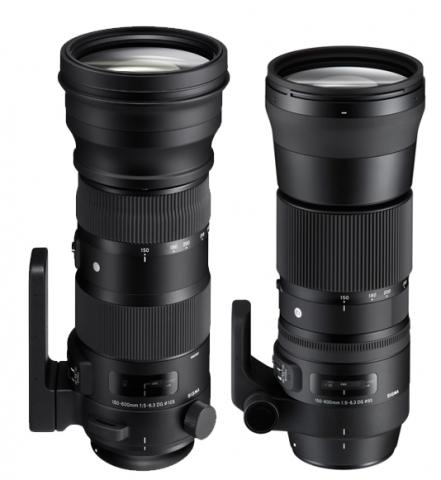 Цены объективов Sigma 150-600mm F/5-6.3 DG OS HSM Sports и 150-600mm F/5-6.3 DG OS HSM Contemporary пока не названы