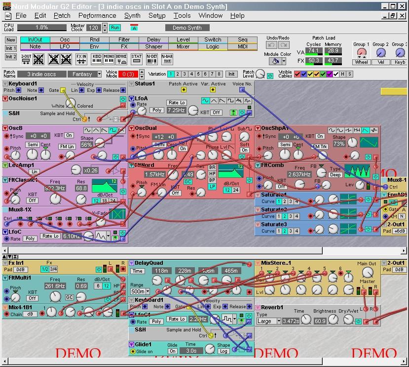 аналоговые синтезаторы