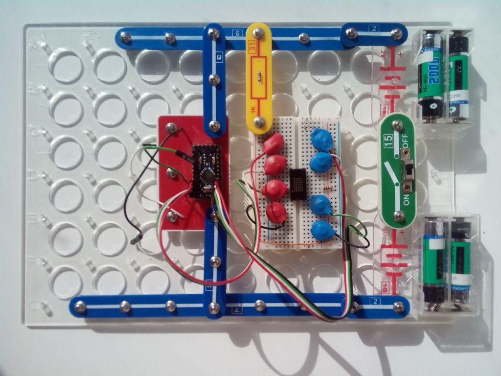 Расширяем интеграцию Arduino в детский конструктор Знаток