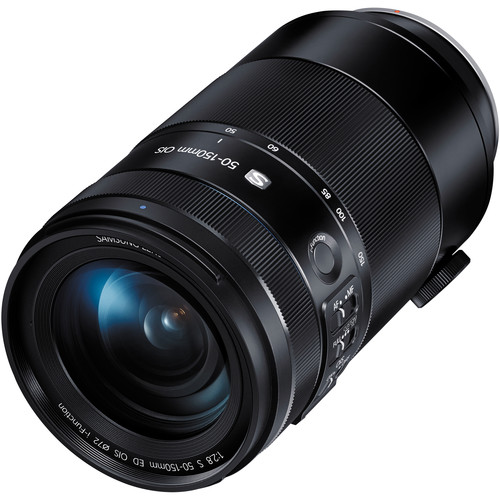 Цена объектива Samsung 50-150mm f/2.8 ED OIS S примерно равна $1600