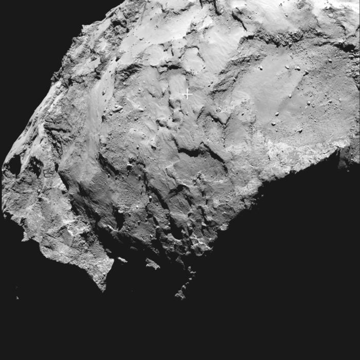 Специалисты ESA выбрали основную и альтернативную точки посадки для зонда Philae Rosetta на комету Чурюмова Герасименко