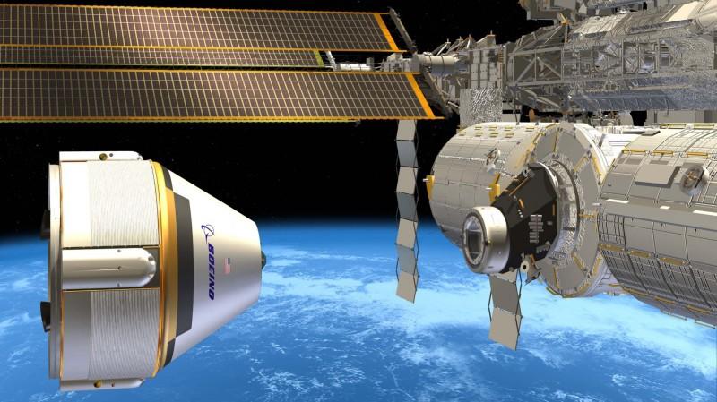 Доставкой астронавтов на МКС займутся «Боинг» и SpaceX