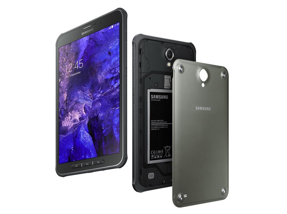 Samsung представила первый защищенный планшет для предприятий GALAXY Tab Active
