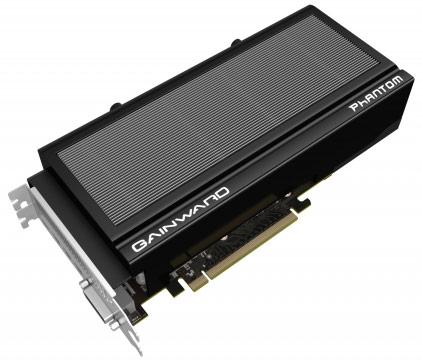Компания Gainward представила две 3D-карты GeForce GTX 970 и одну GTX 980