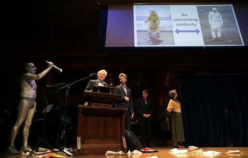 Лауреаты Шнобелевской премии 2014 года