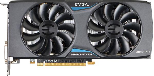EVGA GeForce GTX 970 Superclocked ACX 2.0 (04G-P4-2974)
