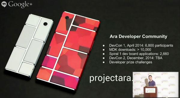 Полнофункциональный прототип модульного смартфона Project Ara покажут в декабре