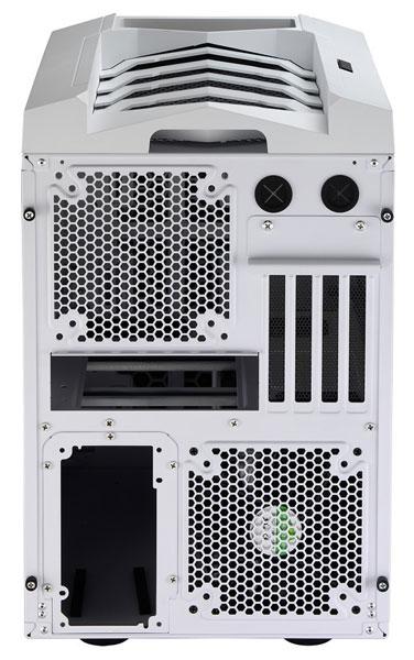 В корпусе Aerocool Xpredator Cube можно установить до шести вентиляторов