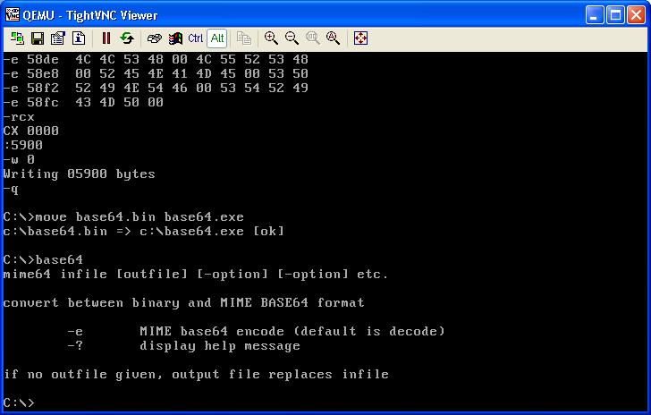 Передача файлов в изолированную виртуальную машину под управлением DOS с помощью… клавиатуры