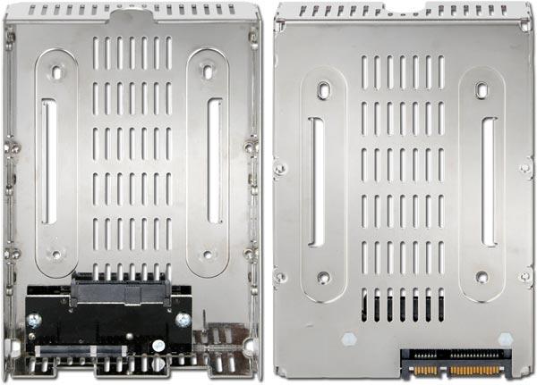 Размеры Icy Dock EZConvert Air Lite MB482SP-3B — 146,6 x 25,4 x 101,6 мм