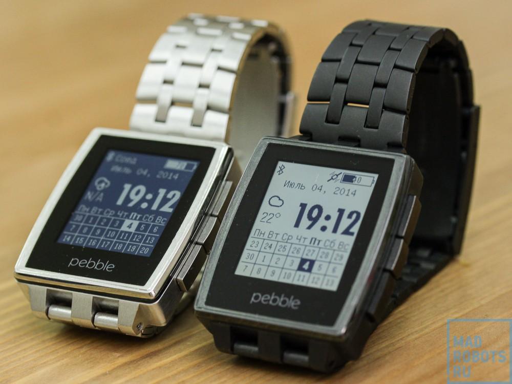 Pebble Steel — эволюция умных часов Pebble
