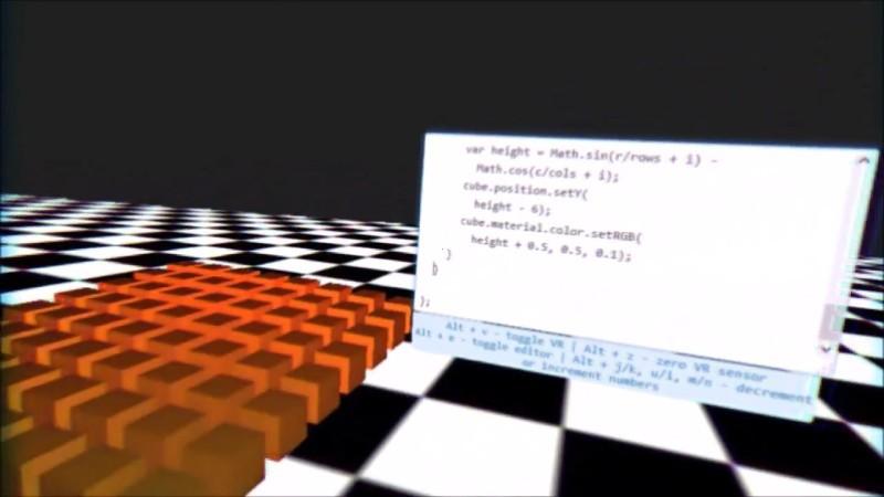 Программирование в шлеме VR