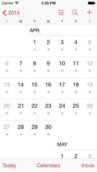 «Используйте стандартный контрол» или как мы воровали календарь у Apple