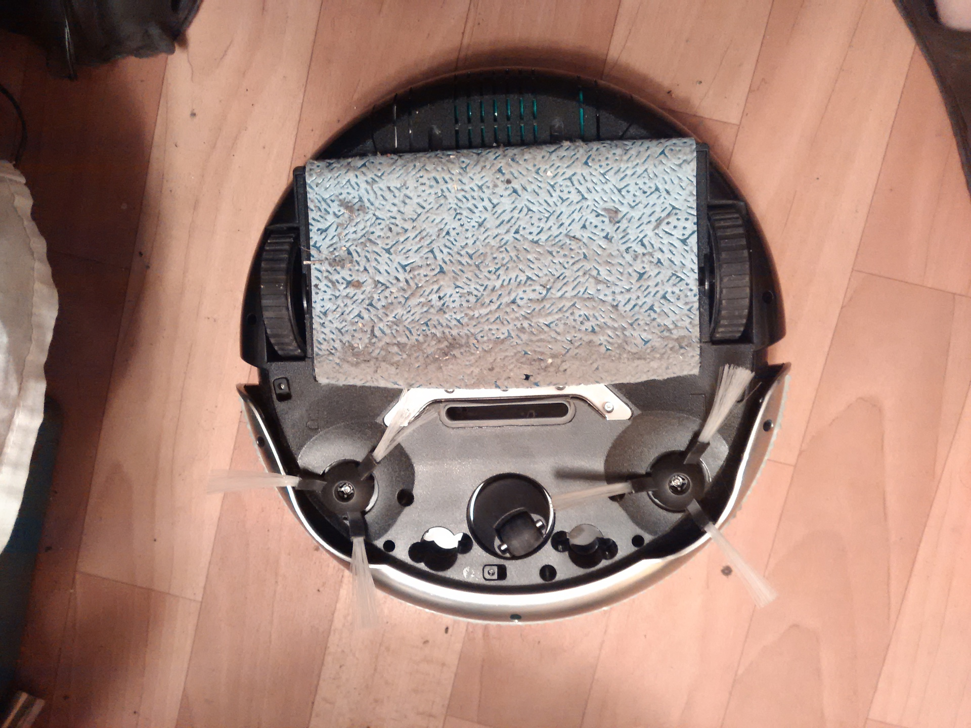 Китайский робот пылесос против технарской общаги