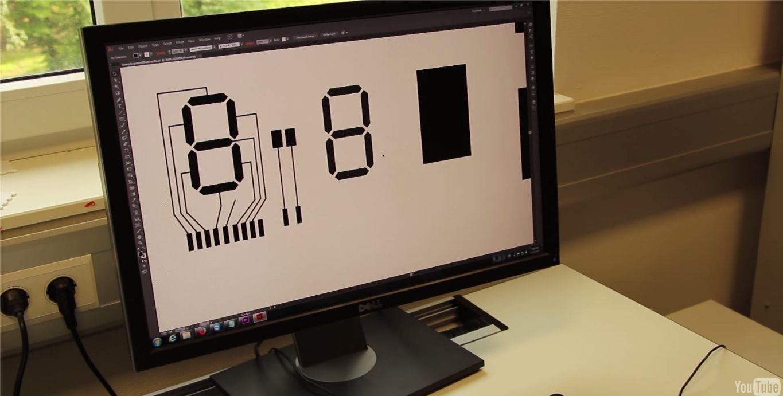 Немцы изобрели способ печатать гибкие сенсорные дисплеи на обычном принтере