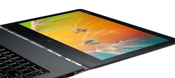 Дисплей Lenovo Yoga 3 Pro имеет разрешение Quad HD+