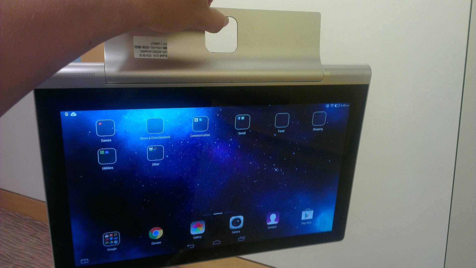 Презентация новых продуктов Lenovo