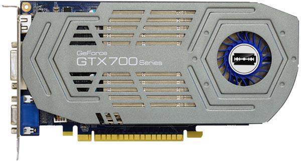 3D-карта Galaxy GeForce GTX750 Ti Razor с 2 ГБ памяти стоит 140 евро
