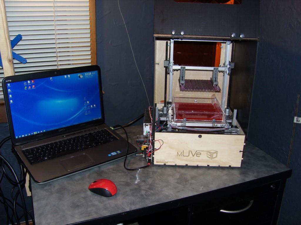 RAR Print — самодельный 3D принтер из CD romов