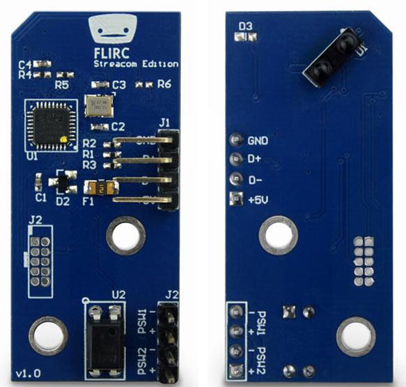 Модуль Streacom Flirc-SE позволяет пробуждать компьютер из спящих режимов S4 (STR) и S5