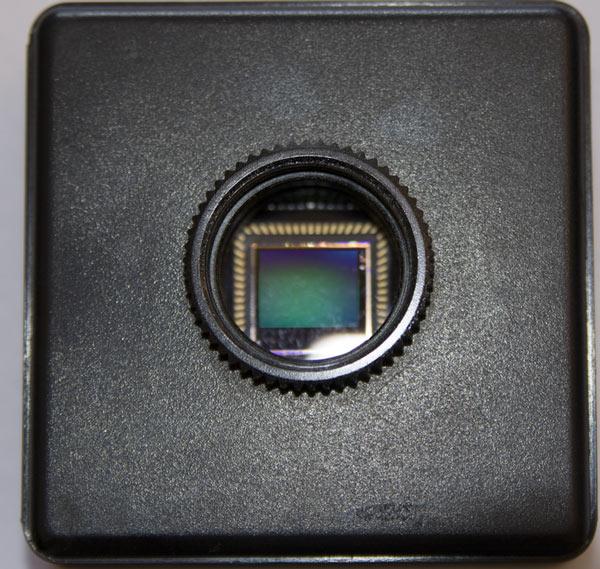 Камера fps1000 рассчитана на объективы с байонетом С-mount