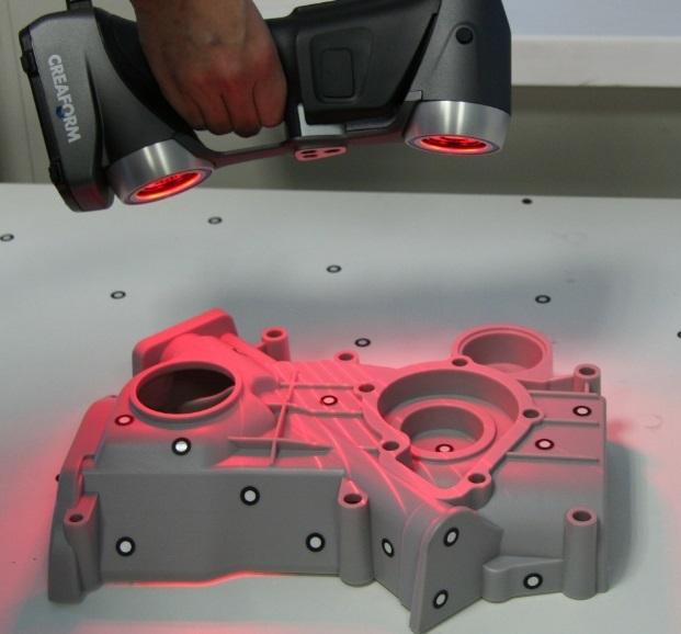 Профессиональные ручные 3d сканеры