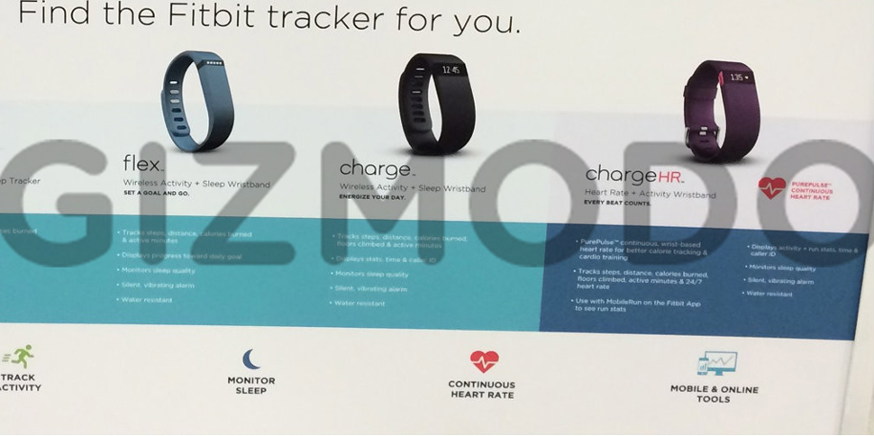 Компания Fitbit готовится к запуску нового браслета — Fitbit Charge