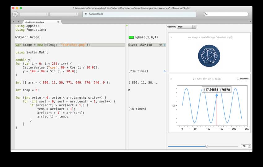 Новости с Xamarin Evolve 2014 — система мониторинга Insights, эмулятор Android Player, Profiler, UITest, прототипирование в Sketches