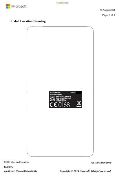 Пятидюймовый дисплей смартфона Nokia RM-1090 имеет разрешение 540 x 960 пикселей