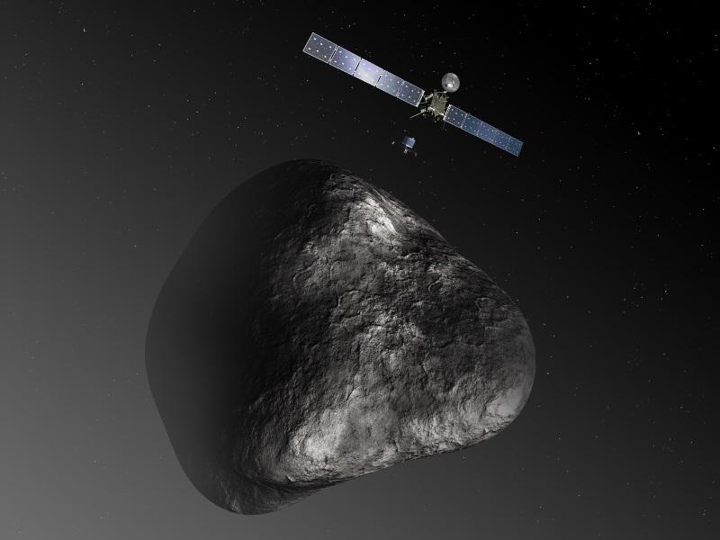 ESA утвердила планы по высадке зонда Philae на комету Чурюмова Герасименко