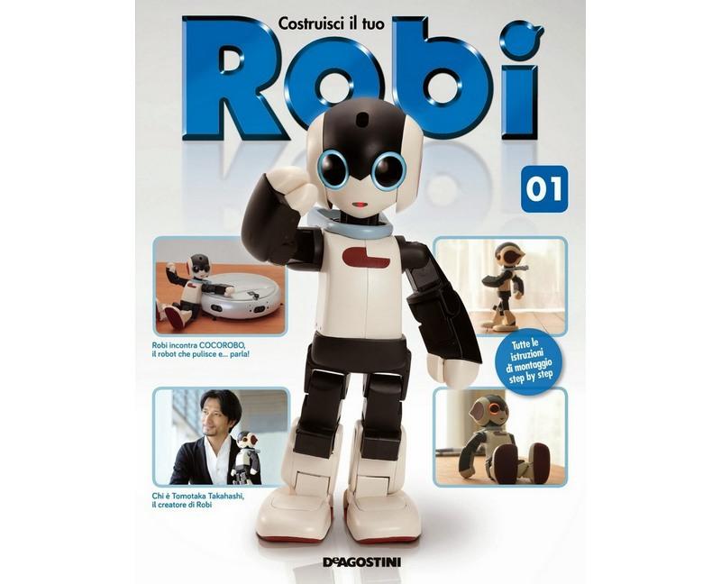 Знакомьтесь, робот конструктор Роби