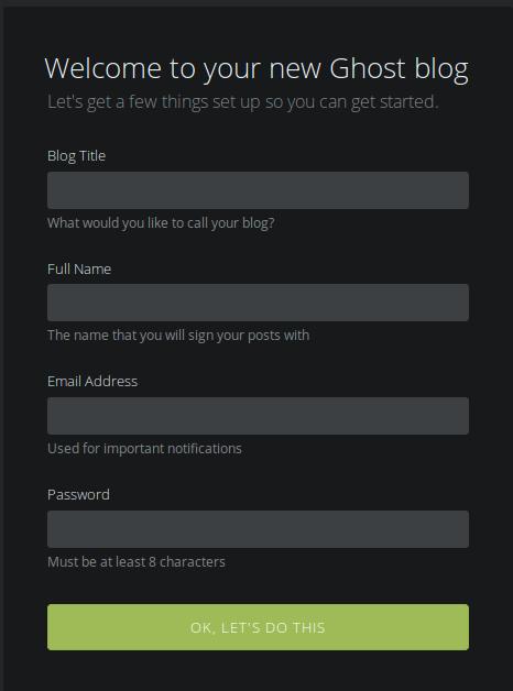 Как создать блог на github.io, используя CMS Ghost