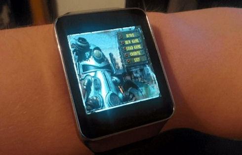Умные часы Gear Live превратились в «парк развлечений»