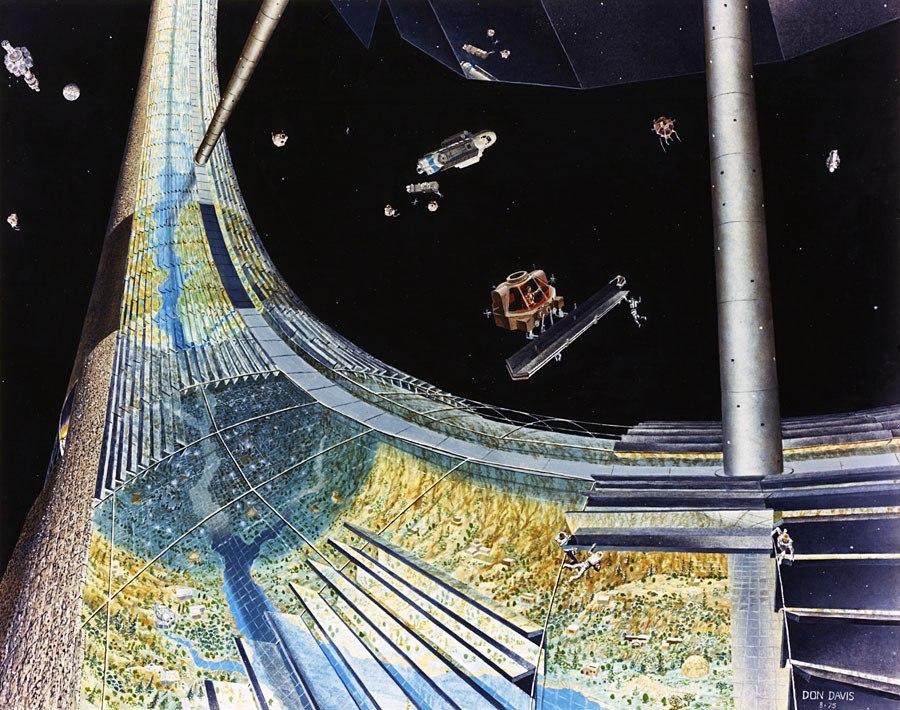 Как может выглядеть космическое поселение будущего?