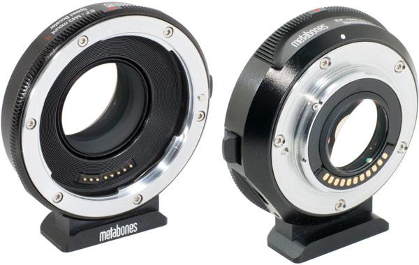 Новая версия адаптера Metabones Canon EF Speed Booster S совместима с камерами Olympus OM-D