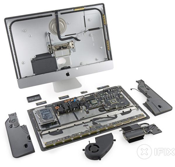 В компьютере Apple iMac с 27-дюймовым дисплеем Retina 5К используется жидкокристаллическая панель производства LG Display