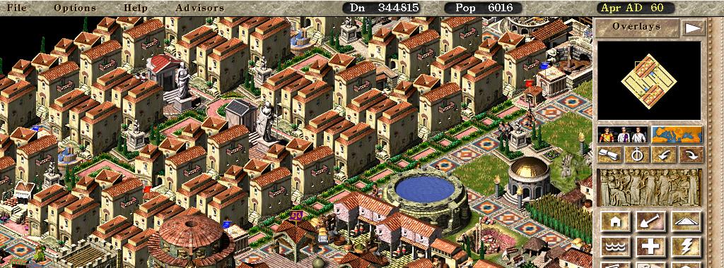 Caesar III: game loop