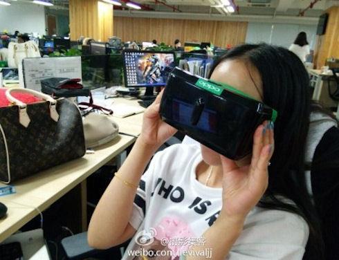 Oppo покажет мастер класс по созданию гарнитуры виртуальной реальности