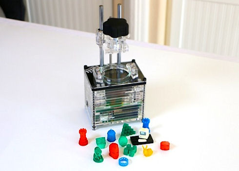 Презентация миниатюрного и малобюджетного 3D принтера от iBox Nano