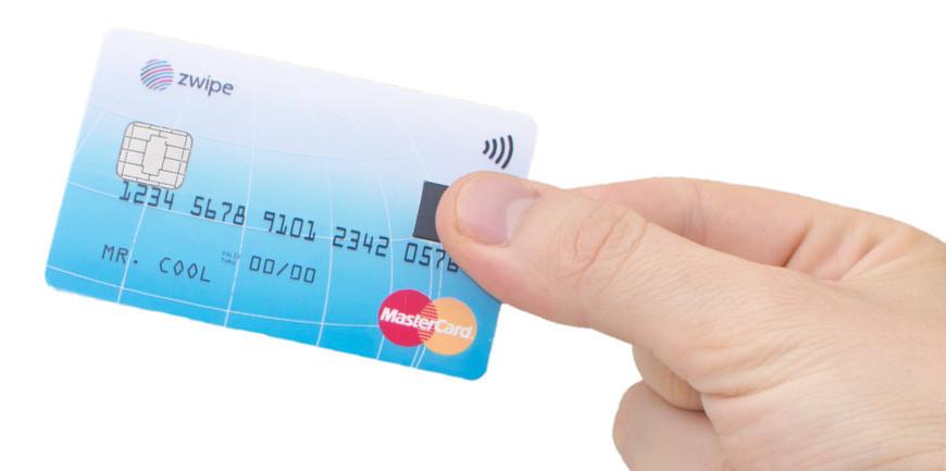 Mastercard выпускает платёжную карту со сканером отпечатков пальцев