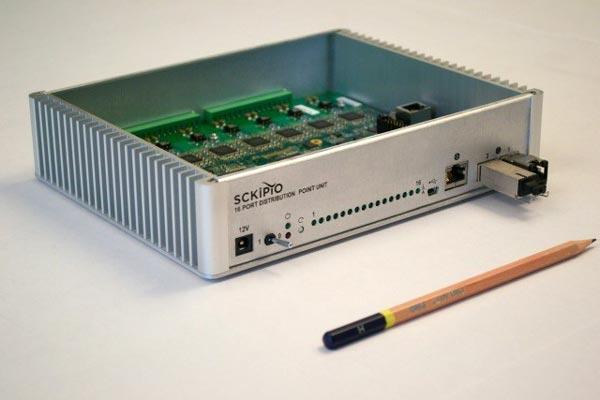 Sckipio впервые показала в работе 16-портовый чипсет FTTdp DPU G.fast