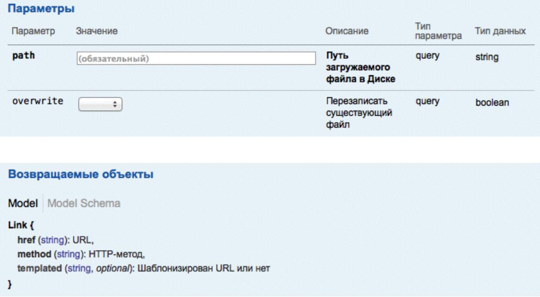 Как написать собственное приложение с REST API Яндекс.Диска