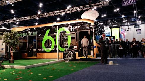 Самый большой электрический автобус от компании BYD