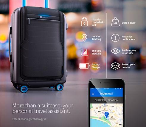 В США выпустят «первый в мире умный чемодан»