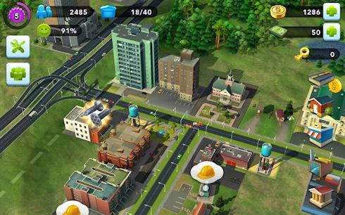 SIM City станет доступна на Android
